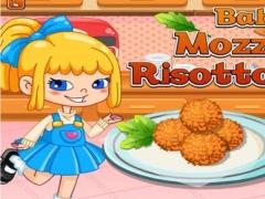 Baby Chef : Mozzarella Risotto Balls 1.0 Screenshot