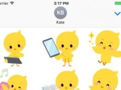 Baby Chick Stickers Vol 01 1.0.0 Screenshot