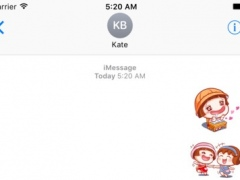 Baby go to school Sticker Pack for iMessage 1.0 Screenshot