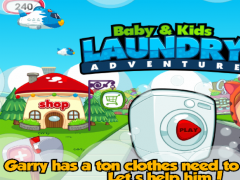 Baby Laundry Adventure  Screenshot
