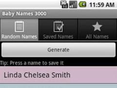 Baby Names 3000 1.0.7 Screenshot