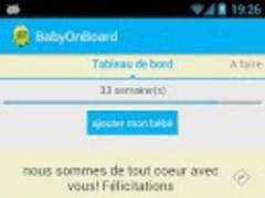 Baby OnBoard 0.0.2 Screenshot