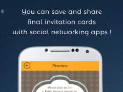 Baby Shower Invitation Card Maker 1 0 Free Download
