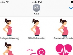 BabyBump-Pregnancy Stickers 1.0 Screenshot