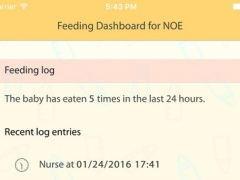 BabyFeed Logger 1.0 Screenshot