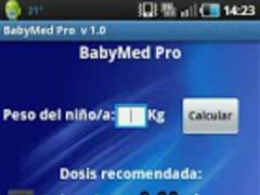 BabyMed Pro 1.0 Screenshot