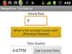 Babysitter Calculator 1.06 Screenshot