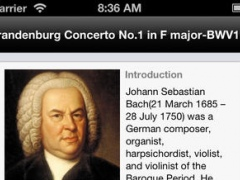 Bach Orchestral Suites 1.23 Screenshot