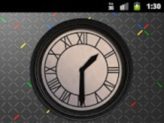 Back to the future. Clock. 1.0 Screenshot