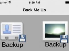 BackMeUp 1.0 Screenshot