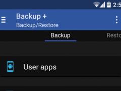Backup + App backup & restore 1.0 Screenshot