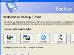 Backup E-mail 1.0 Screenshot