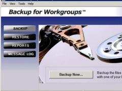 Backup for Workgroups 6.0.3 Screenshot