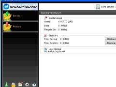 Backup Island 5.5.1.0 Screenshot