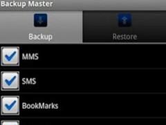 Backup Master history keeper 3.1 Screenshot