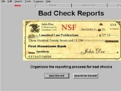 Bad Check Recovery Program 1.2 Screenshot
