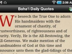 Baha'i Daily Quotes 1.1 Screenshot