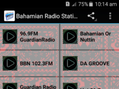 Bahamian Radio Stations 1.0 Screenshot