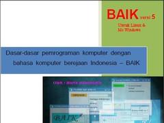 BAIK Scripting Language  Screenshot