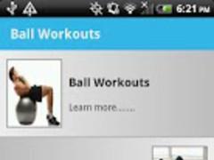 Ball Workouts Free 1.1 Screenshot
