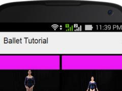 Ballet Tutorial 1.0 Screenshot
