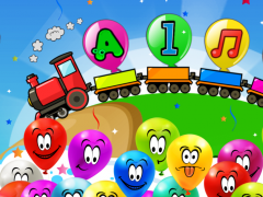 Balloon Pop Kids Learning Game Free for babies 🎈  Screenshot