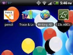 Balloons Falling LWP 1.1 Screenshot
