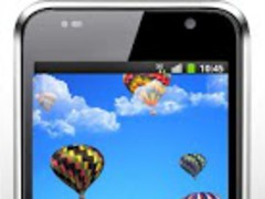 Balloons Flight Live Wallpaper 1.0 Screenshot
