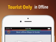 Baltimore Tour Guide: Best Offline Maps with Street View and Emergency Help Info 1.0 Screenshot