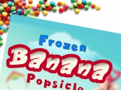 Banana popsicle Maker - Enjoy frozen chocolate ice pops in this snow cone making game 1.0 Screenshot