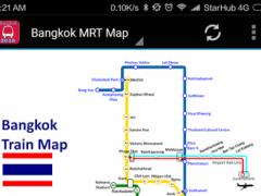 Bangkok BTS MRT Subway Map 1.0 Screenshot