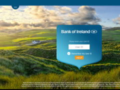 Bank of Ireland Tablet Banking 1.2.1 Screenshot