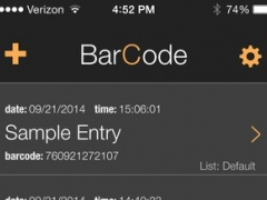 BarCode: data, location and event logger for barcodes 0.7.12 Screenshot