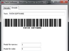 Barcode Decoder and Encoder 2.0 Screenshot