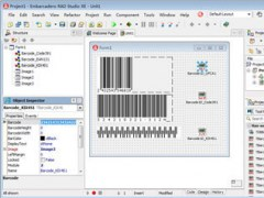 1D Barcode VCL Components 9.1.1.2110 Screenshot