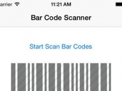 BarCodeScanner-Scan All Type Bar Codes and Show its information 1.0 Screenshot