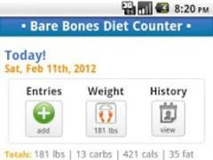 Bare Bones Diet Counter - Lite 1.5.4 Screenshot