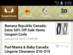 Bargainmoose : Deals & Coupons 2.0.3 Screenshot