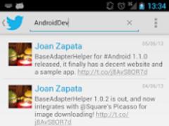 BaseAdapterHelper Demo 1.0 Screenshot