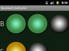 Baseball indicator 1.0 Screenshot