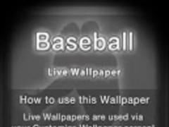 Baseball Live Wallpaper 10 Screenshot