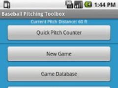Baseball Pitching Toolbox 1.1 Screenshot