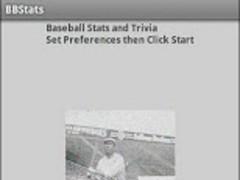 Baseball Stats and Trivia 1.1 Screenshot