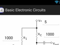 Basic Electronic Circuits Calc 1.1 Screenshot