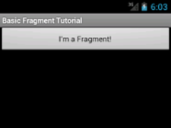 Basic Fragment Tutorial 1.0 Screenshot