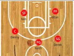 Basketball clipboard lite 2.0 Screenshot