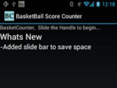 BasketBall Score Counter 3 Screenshot