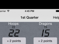 Basketball Score Tracker Lite 1.1 Screenshot