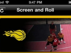 Basketball Screen and Roll - Coaching and Instruction 1.0 Screenshot