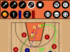 Basketball Tactic Board 5.1.1 Screenshot
